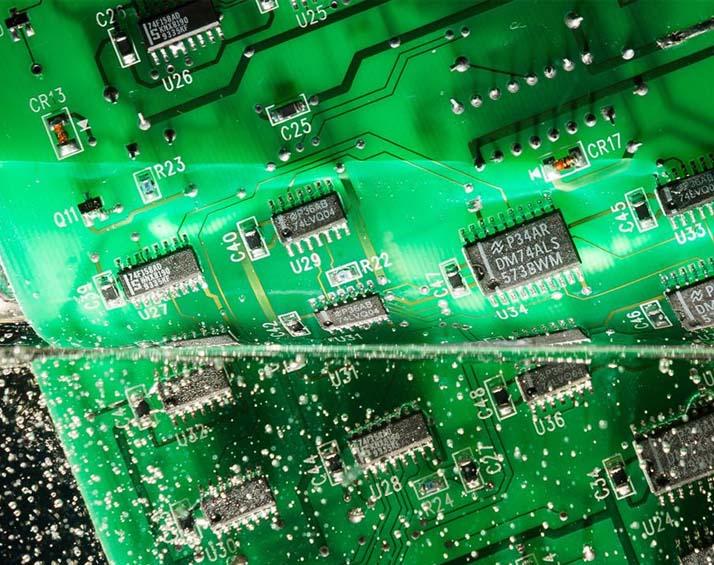 Resinatura schede elettroniche